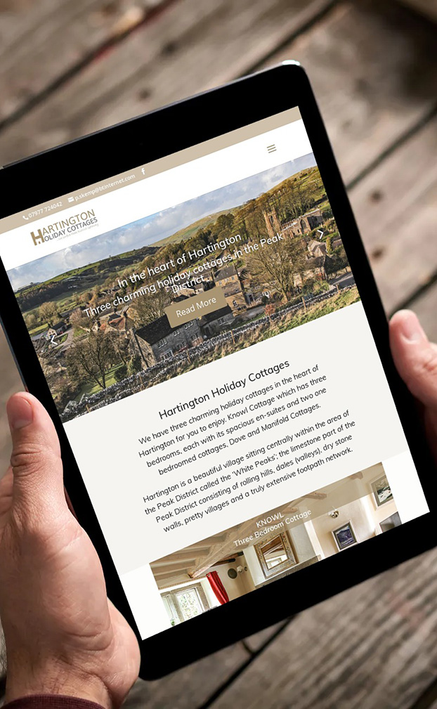 hartington cottages website