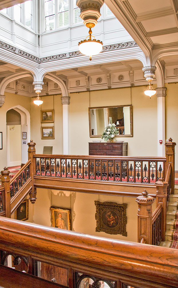 heath house staircase
