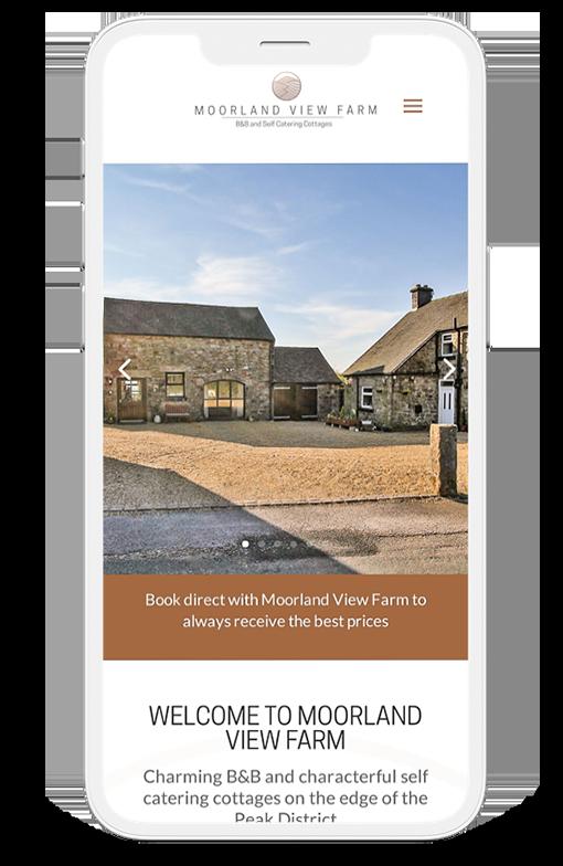 Moorland View Farm website